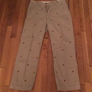 Polo Ralph Lauren Embroidered Chinos